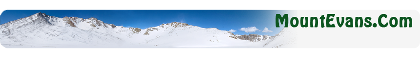 Mount Evans Home Page
